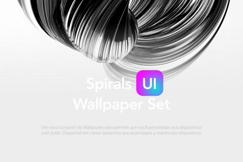 FREEBIES – Spiral UI Wallpaper Set